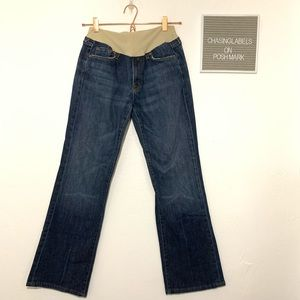 7 Jeans for Pea in a Pod | bootcut dark wash jeans